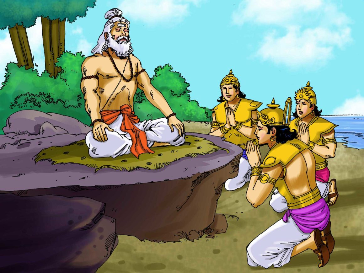 Devas appeal to Sage Agasthya to help them defeat the Asuras